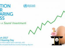 WHO highlights the high global cost posed by unaddressed hearing loss